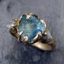 Image result for opal raw wedding ring