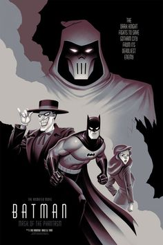 Batman: Mask of the Phantasm - Batman Poster - Trending Batman Poster. - Batman: Mask of the Phantasm Batman Painting, Batman Artwork, Batman Wallpaper, Batman Drawing, Bruce Timm, Joker Batman, Gotham Batman, Batman Robin, Deathstroke Batman