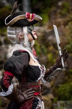 What The Hell Is Steampunk! Pirate Steampunk, Costume Steampunk, Mode Steampunk, Victorian Costume, Steampunk Design, Steampunk Fashion, Victorian Gothic, Corsets, Pirate Woman