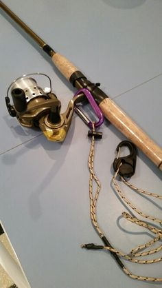 DIY - Fishing rod leash not a bad idea. I've thrown my rod before Kayak Fishing Tips, Fishing Cart, Best Fishing Rods, Crappie Fishing, Gone Fishing, Carp Fishing, Saltwater Fishing, Fishing Lures, Fishing Tricks