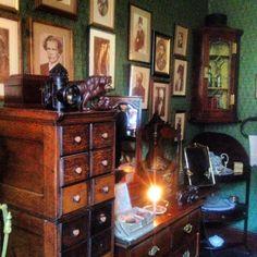Sherlock Holmes bedroom