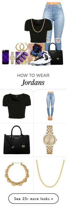 """""""Ain't nobody gon steal my style"""" by fashionismypashion476589 on Polyvore featuring Topshop, MICHAEL Michael Kors, Fremada, Casetify and Michael Kors"""