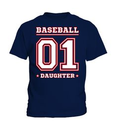 #1 BASEBALL DAUGHTER  T-SHIRT  Funny dad and son T-shirt, Best dad and son T-shirt