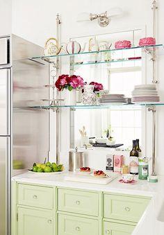 Green Laduree Kitchen