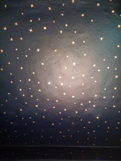 stars in the ceiling.