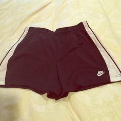Nike black and white workout shorts Size small Nike workout shorts Nike Shorts