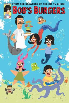Issue #8 of the Bob's Burgers Ongoing Comic Book offers readers a heaping plate of freshly cooked stories! Louise is on a new mission, this time teaming up with Regular Sized Rudy; Gene's battle with