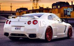 Saw one of these at the mall the license plate said gojira the car was just perfect down to the license plate!!!