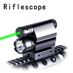 Hunting Scope Green Dot Laser Sight with Utral Brightness Flashlight for Pistol/Airgun/Shotgun Sighting/Lighting Hunting Scopes, Light Flashlight, Green Dot, Shotgun, Outdoor Power Equipment, Entertaining, The Originals, Lighting, Binoculars