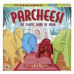 Parcheesi has stood the test of time since its creation in India centuries ago. Another great addition to family game night. $26.95