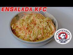 Como hacer ensalada KFC - Coleslaw - YouTube Kfc Coleslaw, Spanish Cuisine, Colombian Food, Tasty, Yummy Food, Summer Recipes, Cabbage, Salads, Dinner Recipes