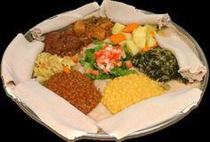 Vegetarian Ethiopian food