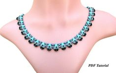 DIY Necklace Beading Tutorial Necklace Pattern Bead