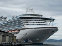 Diamond Princess Cruise Ship is in Sydney Australia at the Quay. Was on her 2 weeks ago cruises trav