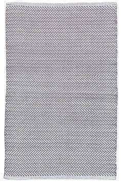 Herringbone grey rug as another option