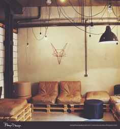 Hipster couch