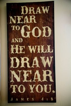 Scripture Art Wooden Sign James 48 this was one of my recent bible verses Scripture Signs, Bible Verses, Bible Book, Scriptures, Painted Signs, Wooden Signs, Bible Verse Painting, Pallet Art, Pallet Signs