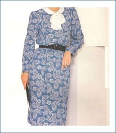 Butterick 5442 Uncut See & Sew Pattern Misses Dress Size 8 10 12