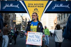 """This sums up my experience at the 2014 Boston Marathon   """"The 42 Best Signs From The Boston Marathon"""" - BuzzFeed"""