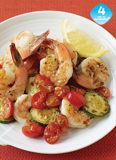 Healthy Shrimp And Zucchini Recipes.Lemon Parmesan Chicken With Zucchini Noodles Lexi's . 60 Best Healthy Pasta Recipes - Easy Ideas For Healthy . Zucchini And Corn Frittata Best Vegetarian Recipe . Ww Recipes, Seafood Recipes, Dinner Recipes, Cooking Recipes, Healthy Recipes, Light Recipes, Recipies, Plats Weight Watchers, Weight Watchers Meals