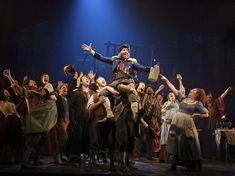 Les Miserables production images by Matthew Murphy & Michael Le Poer Trench. Adam Monley as The Bishop and Ramin Karimloo as Jean Valjean in . Theatre Nerds, Musical Theatre, Me Time, No Time For Me, Jean Valjean, 2012 Movie, Ramin Karimloo, Show Photos, Dark Night