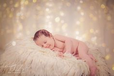 Mia - niemowlęca sesja świąteczna:) fotograf Zielona Góra