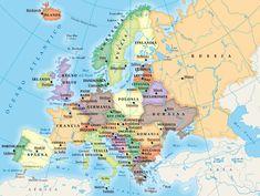 stati europei e capitali