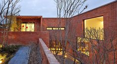 Fortress Brick House by Wise Architecture