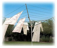 old fashioned clothesline
