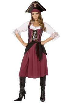 Bisexual  Lesbian and Dating on Pinterest Pinterest Plus Burgundy Pirate Wench Costume