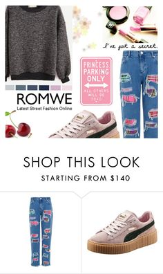 """""""#PrincessRomwe"""" by juromi ❤ liked on Polyvore featuring House of Holland and Puma"""