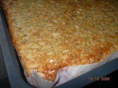 Toscapiirakka( pellillinen ) Pie Recipes, Vegan Recipes, Finnish Recipes, Sweet Pastries, Sweet Pie, Healthy Treats, Vegan Desserts, No Cook Meals, No Bake Cake