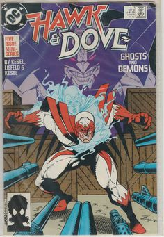 Issue No 1 Hawk and Dove 1988 DC Comic Book by VintageCasinoTokens on Etsy