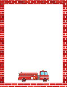 Fire Truck Border