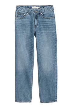 H&M Straight Regular Jeans