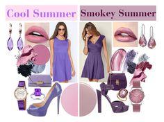 Cool Vs. Smokey Summer by prettyyourworld on Polyvore featuring Venus, Christian Louboutin, Gucci, ZAC Zac Posen, Hermès, Belk & Co., Kobelli, Henry London, Swarovski and Seraphina