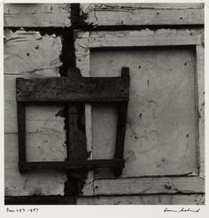 Aaron Siskind's photography