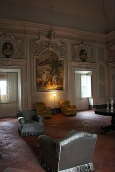 salone Villa La Magia Quarrata #TuscanyAgriturismoGiratola