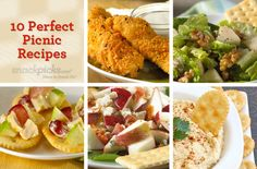 Perfect Picnic Recipes - Looking forward to trying in October, when it's not 112 outside.  :)