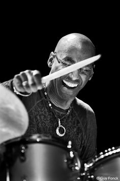 Omar Hakim- ORIGINAL DRUMMER FOR P FUNK AND PARLAMENT; WENT ON TO PLAY WITH SLY THEN WITH GREG WRIGHT, DID SOME WORK WITH TOURS ON MICHAEL JACKSON MOST RECENTLY