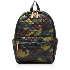 Mz Wallace Metro Backpack ($260) ❤ liked on Polyvore featuring bags, backpacks, backpack, detachable backpack, backpack bags, backpack pouch, nylon backpack and knapsack bag