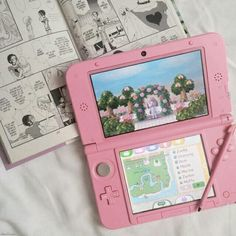 Find images and videos about cute, pink and white on We Heart It - the app to get lost in what you love. Ds Xl, Nintendo, Cute Games, Everything Pink, Pink Aesthetic, Retro, Aesthetic Pictures, Animal Crossing, Childhood