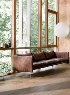 Köp Tiki Soffa från Fogia Sofa Design, Interior Design, Snug Room, Beautiful Sofas, Scandinavia Design, Swedish Design, Cushion Filling, Living Room Inspiration, Leather Sofa