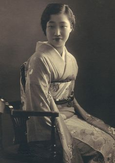 Wearing a kimono Japanese woman in traditional clothing Taken in Japanese Photography, Japanese Outfits, Japanese Clothing, Sculpture, Japanese Kimono, Traditional Outfits, Traditional Japanese, Art Plastique, Timeless Beauty
