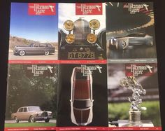 The Flying Lady Rolls Royce Bentley Magazine Back Issues Lot 6 Exotic Luxury Car