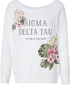 gokotis.com | Hawaiian florals! #SDT #SigmaDeltaTau #OneHopeofManyPeople #Sorority #BidDay #Recruitment (135133)