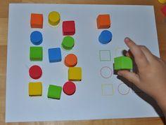 Memorizing the Moments: Foam Block Letter Templates