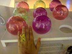 #artepovera #ring #fun #special #epoxy #yellow #green #different #girly #unique #fashion #summer #summerfun #jewels #handmade #alternative #my ArtePovera ring!!!