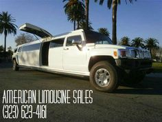 New or Used limo sales. SUV limos,Party Buses, Sprinter limousines and more. Custom built limos for sale and easy financing. We have many limousines in stock right now. Hummer H1 Alpha, Hummer H3, Limo For Sale, Party Bus, Website, Nice, Check, Nice France