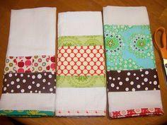 Dish Towels by creationsbyrachel, via Flickr